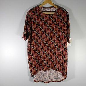 NWT LuLaRoe multicolor blouse  Sz XXS